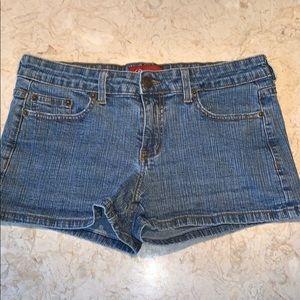 Dark Wash Jean Shorts